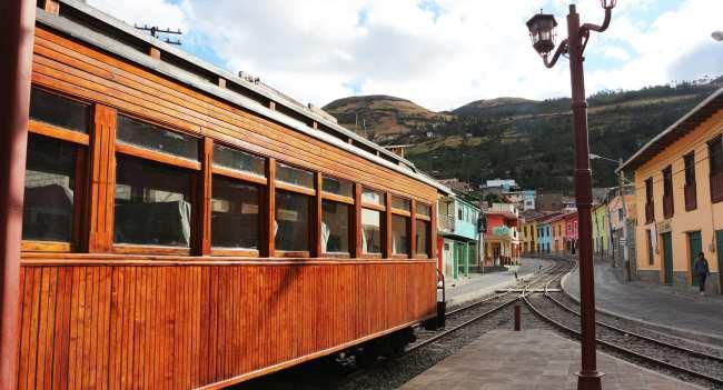 Dicas de viagem do Equador - trem