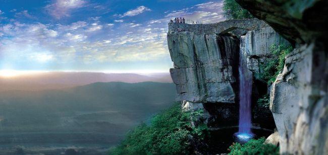 O que fazer em Chattanooga - Rock City Lover's leap