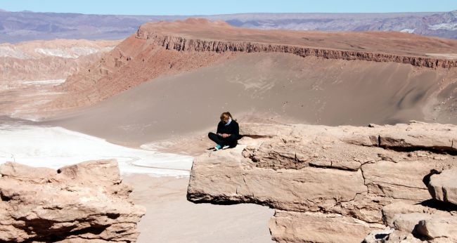Passeios no Atacama - Vale da Lua 5 - Pedra do Coyote