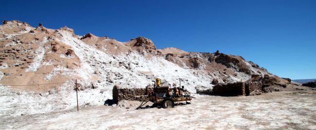 Passeios no Atacama - Vale da Lua - mina de sal 2