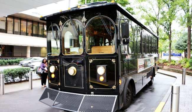 Roteiro de viagem de Atlanta - Trolley tour