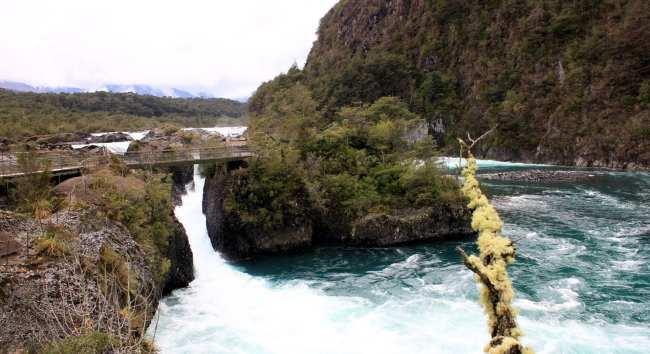Como é o Cruce Andino - Saltos de Petrohué