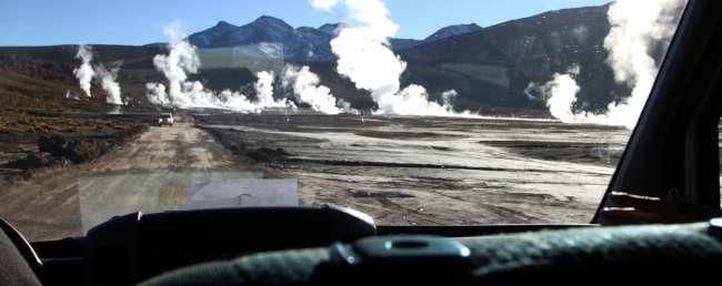 Passeios no Atacama - Gêiser de Tatio 1