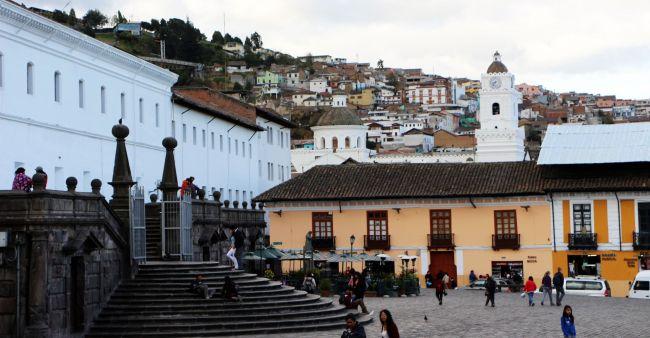 Roteiro de Quito - Igreja de São Francisco 2