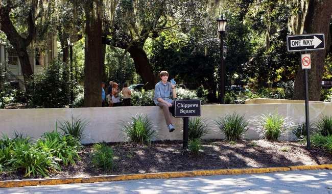 O que fazer em Savannah - Forrest Gump 2