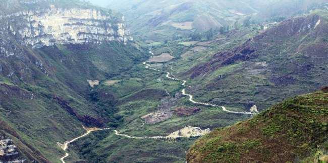 Norte do Peru chachapoyas - revash 3