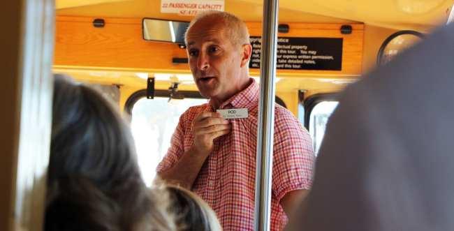 St Simons Island na Georgia Estados Unidos - Trolley Tour