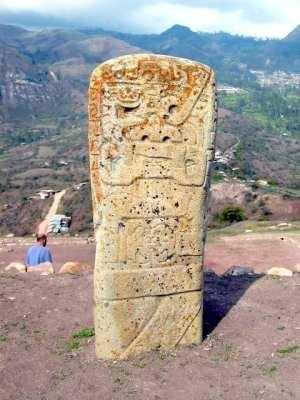 Cajamarca, norte do Peru - ruínas de Kuntur Wasi