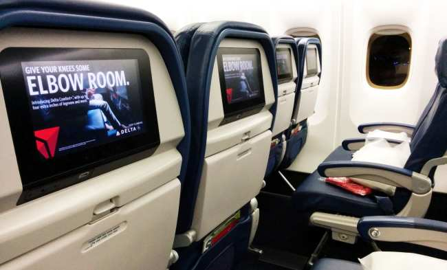 Como é voar de Delta Airlines - 2
