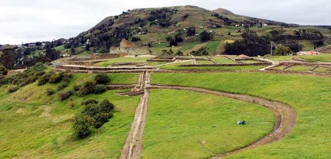Ruína Inca no Equador - Ingarapirca 3