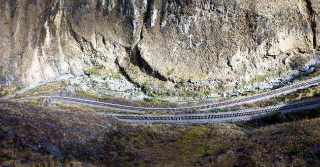 Trem Nariz del Diablo (rota nariz do diabo) Equador - 12