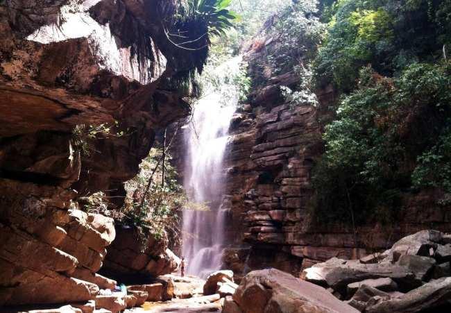 Chapada Diamantina - cachoeira do mosquito