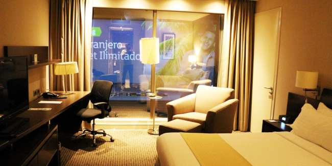 Onde ficar em Santiago - Holiday Inn Santiago aeroporto