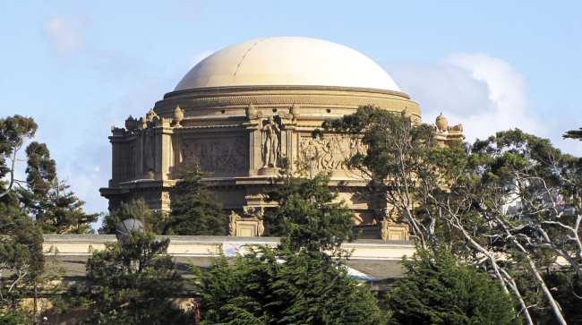 Roteiro por São Francisco - Palace of Fine Arts