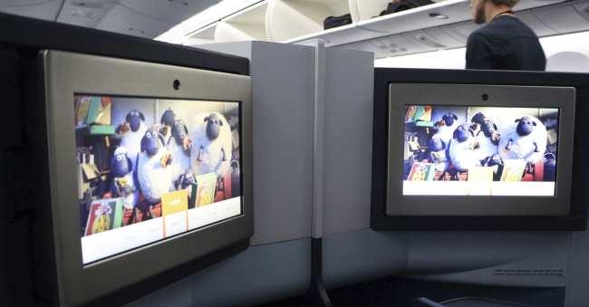 Como é voar de business class na KLM - 07