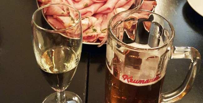 Cesky Krumlov - cerveja na República Tcheca - 29