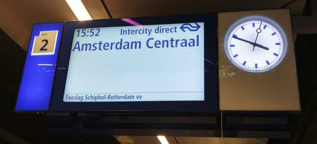 Amsterdam - como ir do aeroporto ao centro da cidade - 2