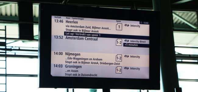 Amsterdam - como ir do aeroporto ao centro da cidade - 14