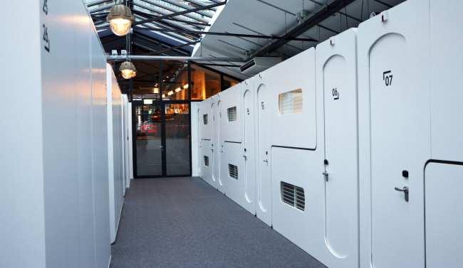 Hotel em Amsterdam - CityHub hotel capsula 10