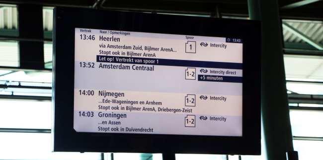 Trem na Europa - Holanda - 10