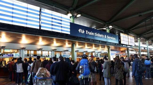 Trem na Europa - Holanda - 11