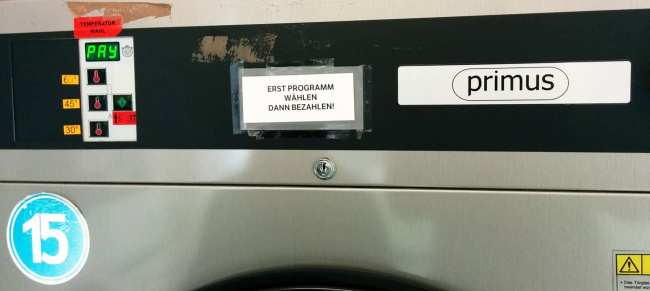 Como lavar roupa na Europa: lavandera - 14