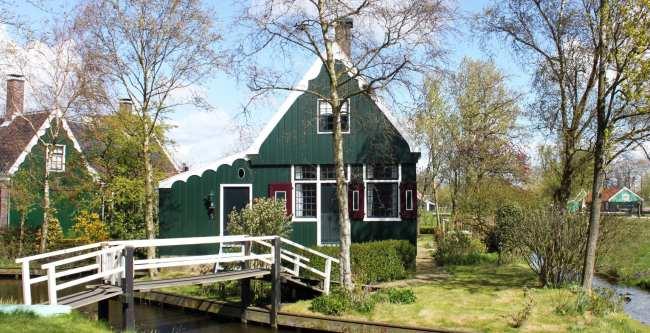 Bate e volta de Amsterdam: Zaanse Schans - 07