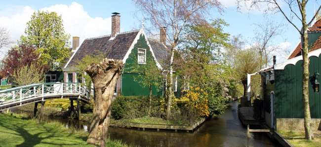 Bate e volta de Amsterdam: Zaanse Schans - 08