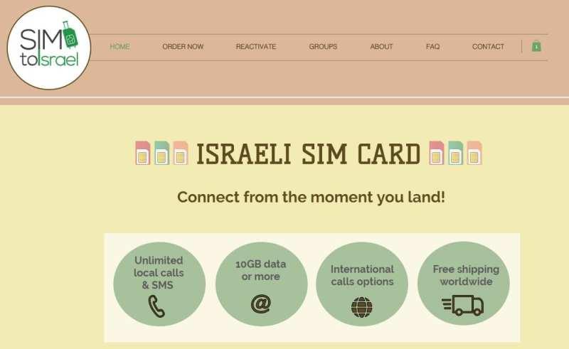 Onde comprar chip de internet 3G/4G em Israel - 10