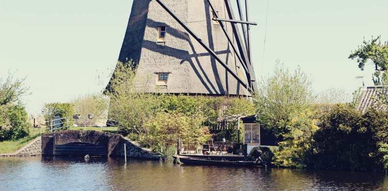 Como chegar em Kinderdijk - os primeiros moinhos da Holanda - 06
