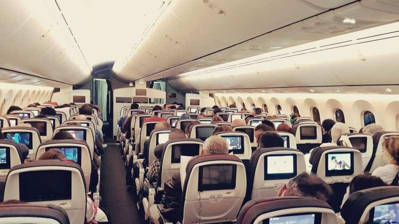 Review da Air Canada Interno e Externo - 03