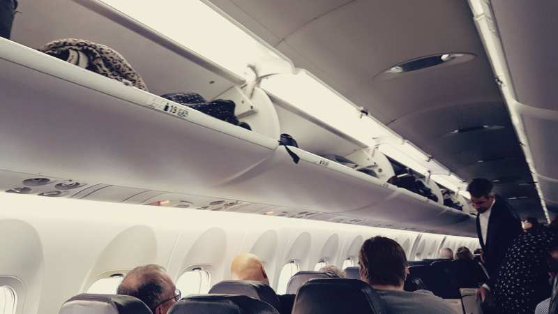 Review da Air Canada Interno e Externo - 06