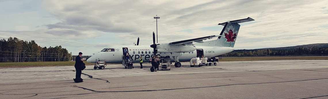 Review da Air Canada Interno e Externo - 08