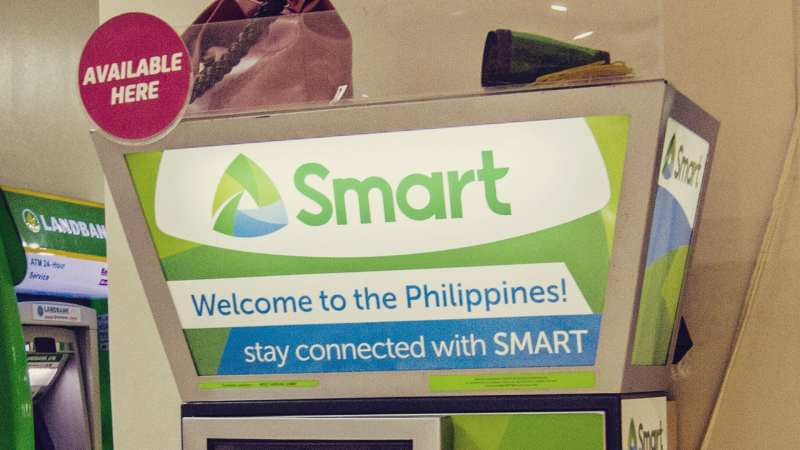 Filipinas, chip de celular, Smart