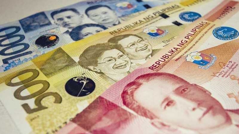 Notas de peso filipino