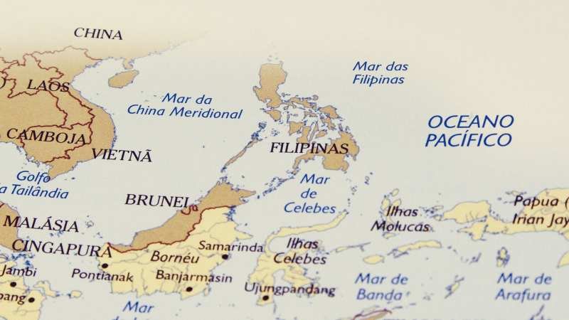 Filipinas no mapa-mundi