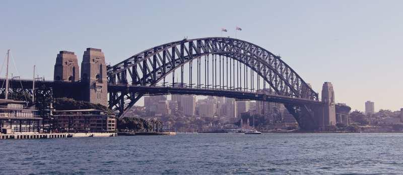 De onde ber a baía de Sydney do alto - 06