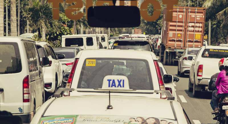 Trânsito em Manila