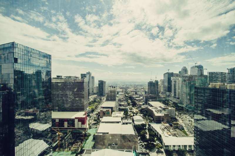 Manila num dia de sol e calor