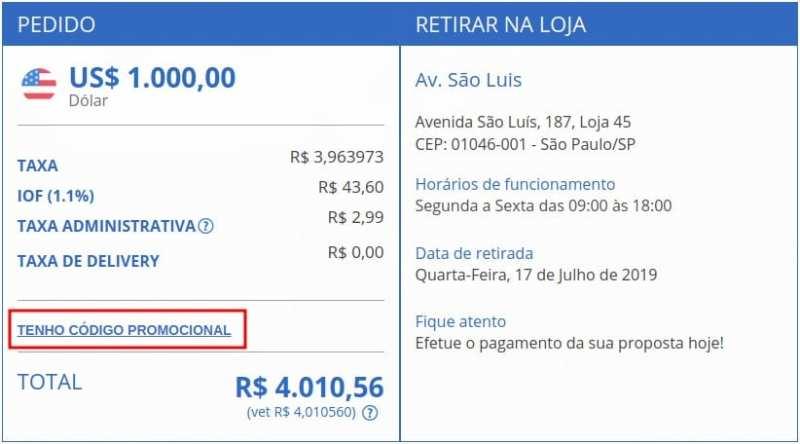 Como comprar moeda estrangeira com as melhores taxas