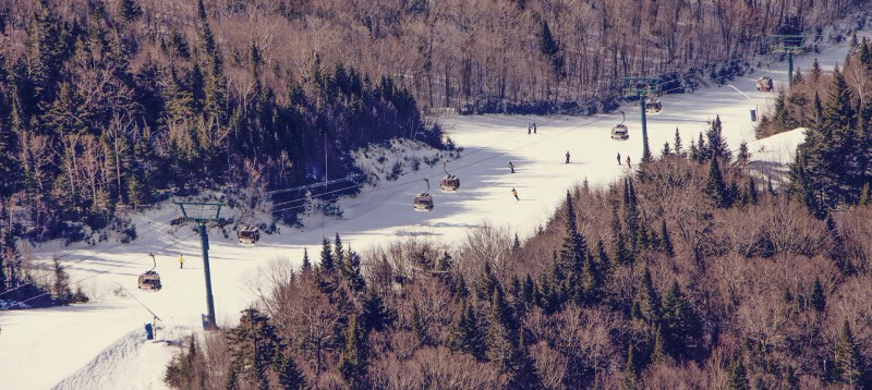Mont Tremblant: uma estação de esqui no Canadá - 17