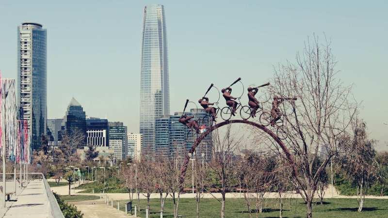 Programas imperdíveis em Santiago: Sky Costanera