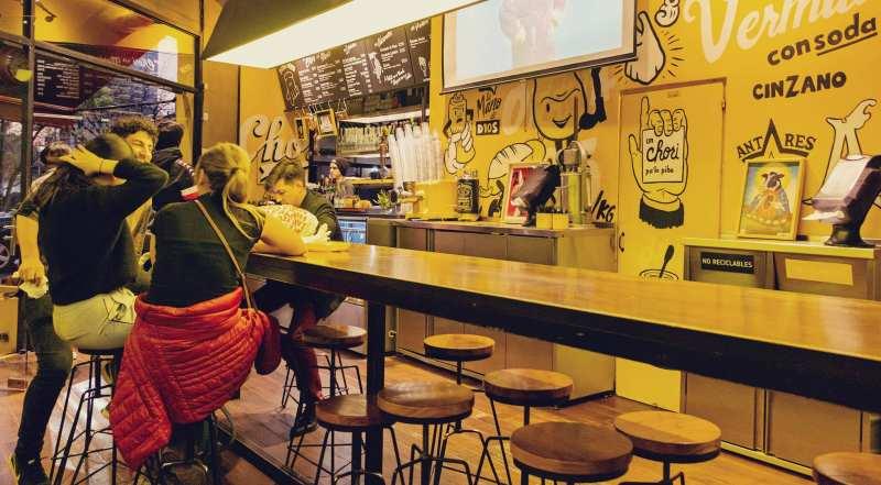 O que fazer em Buenos Aires gastando pouco - restaurante Chori