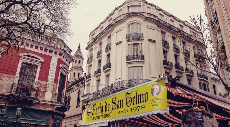 O que fazer em Buenos Aires gastando pouco - Feira de San Telmo