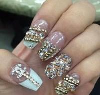 Nails With Diamonds   www.imgkid.com - The Image Kid Has It!