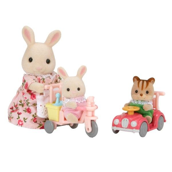Sylvannia - Tricycle et mini voiture bébés 1
