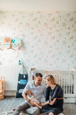 Famille écologique à Paris // Crédit - Camille Marciano