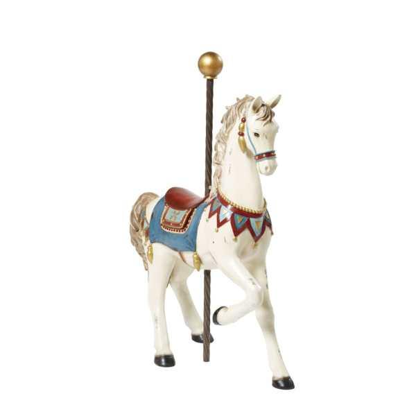 Statue cheval Carrousel - Blog famille Sunday Grenadine