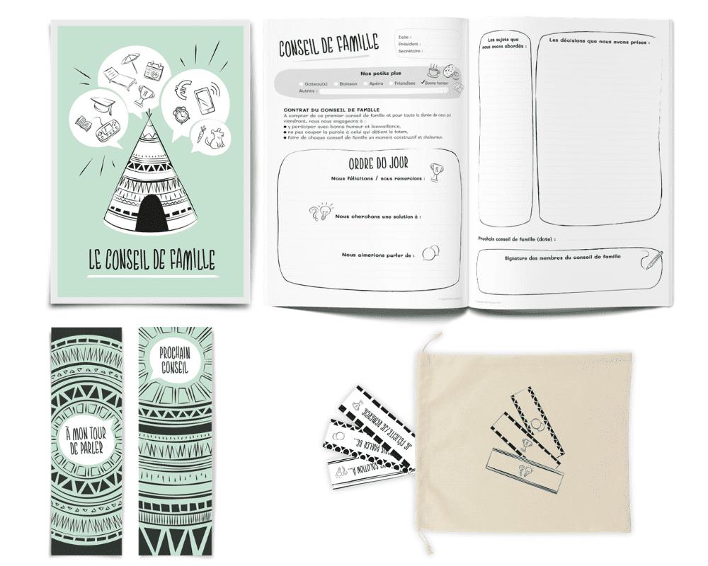 """Le kit """"Conseil de Famille"""" de L'Atelier Gigogne"""