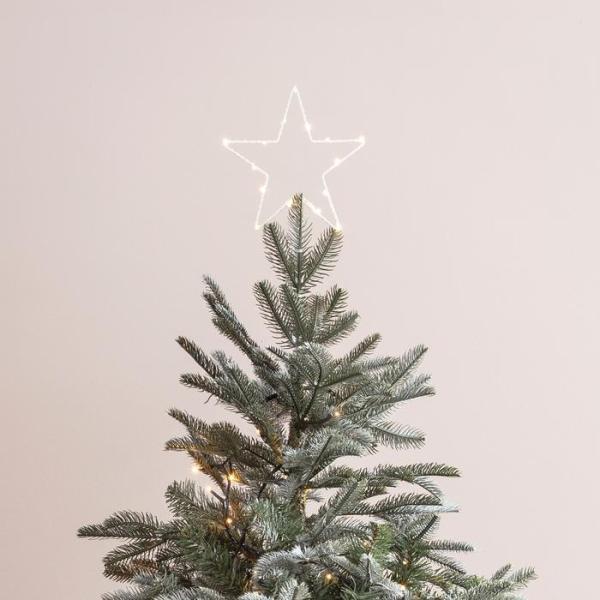 LIGTHS4FUN - Cimier lumineuse Sapin de Noël Étoile - Blog famille Sunday Grenadine